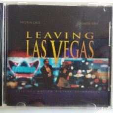 CDs de Música: CD LEAVING LAS VEGAS - BANDA SONORA ORIGINAL ORIGINAL MOTION PICTURE SOUNDTRACK NICHOLAS CAGE. Lote 195200678