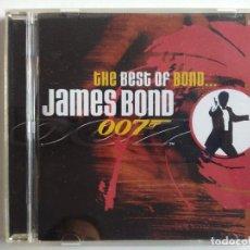 CDs de Música: CD THE BEST OF BOND JAMES BOND 007 - BANDA SONORA SOUNDTRACK DURAN DURAN TINA TURNER SHERYL CROW USA. Lote 195202077