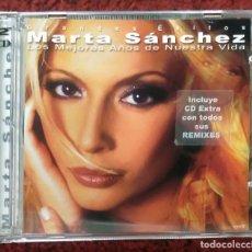 CDs de Música: MARTA SANCHEZ (LOS MEJORES AÑOS DE NUESTRA VIDA - GRANDES EXITOS) 2 CD'S 2001. Lote 195202828