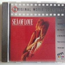 CDs de Música: CD BANDA SONORA SEA OF LOVE (ORIGINAL MOVIE SOUNDTRACK) AL PACINO - TREVOR JONES TOM WAITS RARO. Lote 195203190
