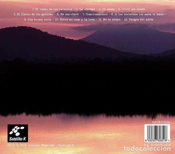 CDs de Música: JUANITO MAKANDÉ - EL HABITANTE DE LA TARDE ROJA - DIGIPAK - Foto 2 - 195210712