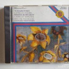 CDs de Música: CD LEONARD BERNSTEIN TCHAIKOVSKY RIMSKY KORSAKOV. Lote 195215108