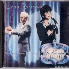 CDs de Música: LINDA RONSTADT WITH NELSON RIDDLE : FOR SENTIMENTAL REASONS - CD ORIGINAL ALEMANIA 1986 ELEKTRA. Lote 195216588