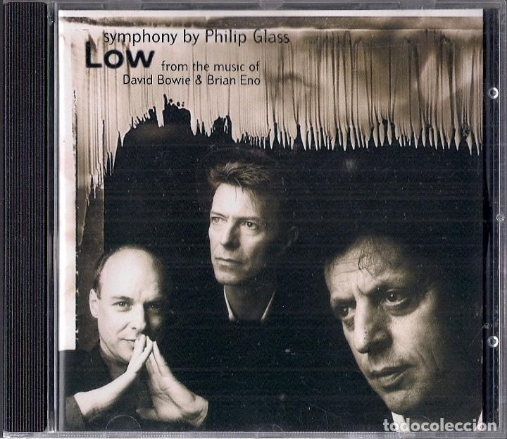 PHILIP GLASS : LOW SYMPHONY (FROM MUSIC OF DAVID BOWIE & BRIAN ENO) - CD ALEMANIA 1993 POINT MUSIC (Música - CD's New age)