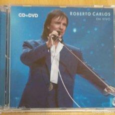 CDs de Música: ROBERTO CARLOS (EN VIVO) CD + DVD 2008. Lote 195226312