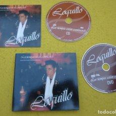 CDs de Música: CD-DVD LOQUILLO Y TROGLODITAS–LOS TIEMPOS ESTAN CAMBIANDO (M-/M-/M-) GATEFOLD Ç. Lote 195226808