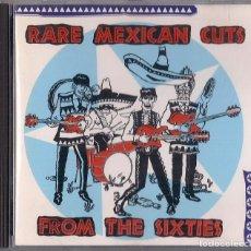 CDs de Música: RARE MEXICAN CUTS FROM THE SIXTIES - CD ORIGINAL FRANCIA 1992 EVA - LOS APSONS LOS OVNIS LOS YAKIS . Lote 195227683