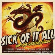 CDs de Música: SICK OF IT ALL - WAKE THE SLEEPING DRAGON! (CD). Lote 195228723