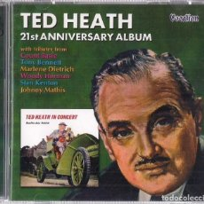 CDs de Música: TED HEATH : BEAULIEU JAZZ FESTIVAL + 21ST ANNIVERSARY ALBUM - DOBLE CD ORIGINAL UK 2003 VOCALION. Lote 195229568