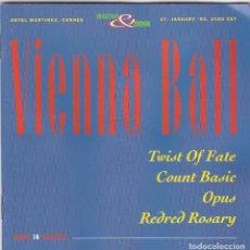 CDs de Música: VIENA BALL(TWIST OF FATE,COUNT BASIC,OPUS Y REDRED ROSAY)EDICION AUSTRIA PROMO. Lote 195231770