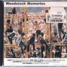 CDs de Música: WOODSTOCK MEMORIES : BYRDS FLEETWOOD MAC SANTANA PACIFIC GAS TIM HARDIN - CD 1996 COLUMBIA. Lote 195232232