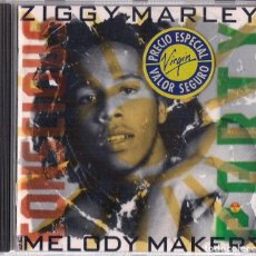 CDs de Música: ZIGGY MARLEY & THE MELODY MAKERS : CONSCIOUS PARTY - CD ORIGINAL HOLANDA 1988 VIRGIN. Lote 195232423