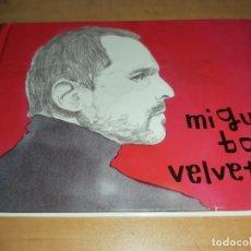 CDs de Música: MIGUEL BOSÉ CD/LIBRO VELVETINA (EL PAIS Nº13)-MECANO-ALEJANDRO SANZ (COMPRA MINIMA 15 EUR). Lote 195234557