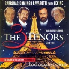 CDs de Música: CARRERAS*, DOMINGO*, PAVAROTTI* WITH LEVINE* - THE THREE TENORS IN PARIS (CD, ALBUM) LABEL:DECCA CA. Lote 195236865