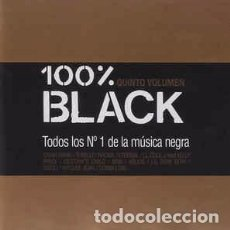 CDs de Música: VARIOUS - 100% BLACK QUINTO VOLUMEN (2XCD, COMP) LABEL:BLANCO Y NEGRO (2) CAT#: MXCD 1194 . Lote 195236952