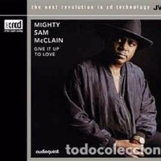 CDs de Música: MIGHTY SAM MCCLAIN - GIVE IT UP TO LOVE (CD, ALBUM, RM, XRC) LABEL:JVC CAT#: JVCXR-0012-2 . Lote 195237997