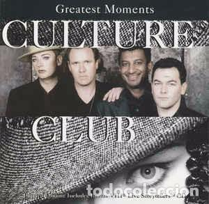 CULTURE CLUB - GREATEST MOMENTS (2XCD, COMP, EMI) LABEL:VIRGIN, VIRGIN CAT#: CDVX 2865, 7243 8 4626 (Música - CD's Rock)