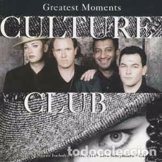 CDs de Música: CULTURE CLUB - GREATEST MOMENTS (2XCD, COMP, EMI) LABEL:VIRGIN, VIRGIN CAT#: CDVX 2865, 7243 8 4626. Lote 195239541