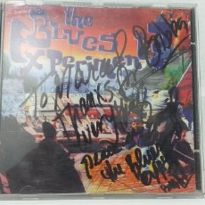 CDs de Música: CD THE BLUES EXPERIMENT FIRMADO. Lote 195241176