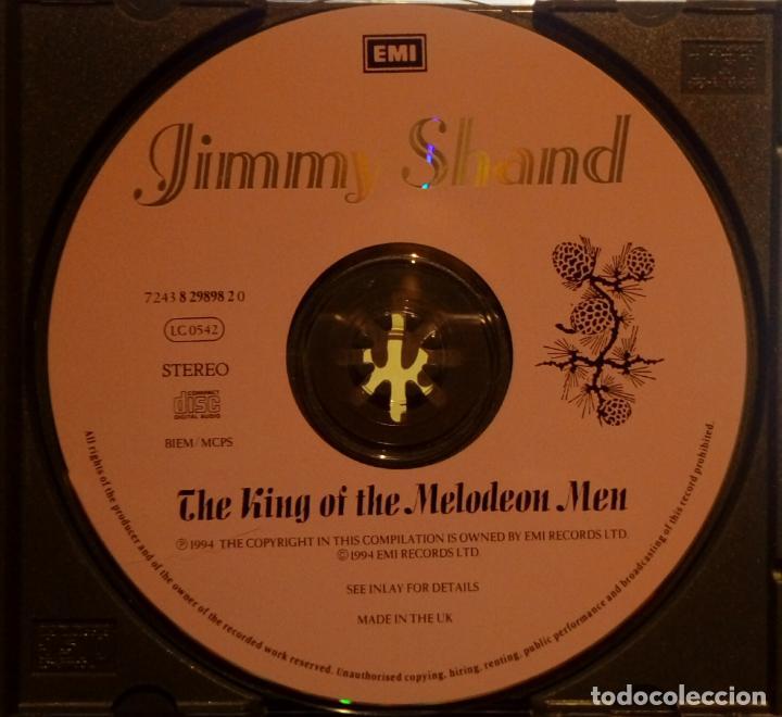 CDs de Música: JIMMY SHAND THE KING OF THE MELODEON MEN. Album CD ( FOLK ESCOCÉS ACORDEÓN ) DISCO PROMOCIONAL - Foto 2 - 195241208