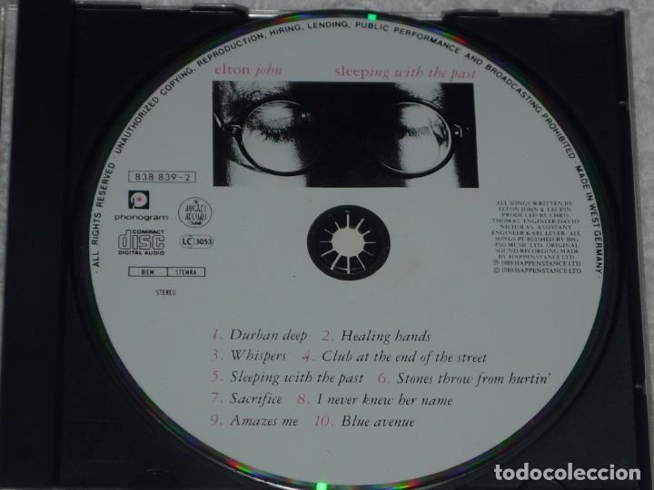 CDs de Música: Elton John - Sleeping With The Past. Cd Importado, Excelente! - Foto 3 - 195245037
