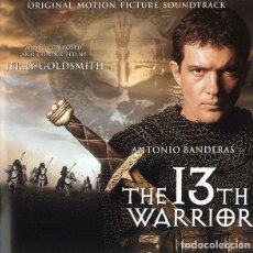 CDs de Música: THE 13TH WARRIOR / JERRY GOLDSMITH CD BSO. Lote 195246712