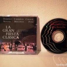 CDs de Música: CD ORIGINAL - LA GRAN FIESTA CLASICA - OPERA - DOMINGO - CARRERAS - CABALLE - OLIMPIADAS BARCELONA. Lote 195247852