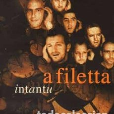 CDs de Música: A FILETTA - INTANTU (CD, ALBUM) LABEL:DEDA, VIRGIN FRANCE SAS CAT#: 724381218129 . Lote 195254233