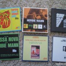 CDs de Música: CAJA 5 CD´S HERBIE MANN. MUY BUENA CONSERVACION. Lote 195254407