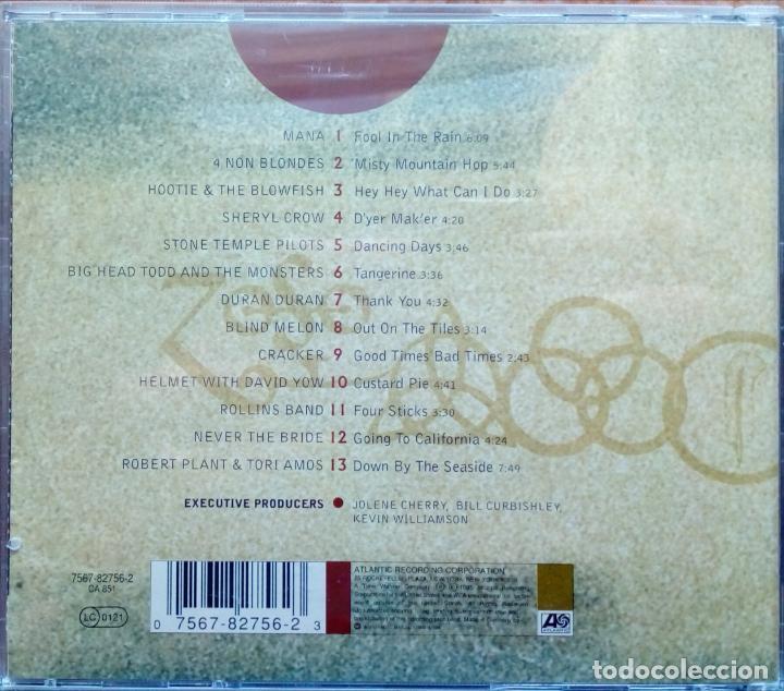 CDs de Música: ENCOMIUM A TRIBUTE TO LED ZEPPELIN. ( SHERYL CROW, DURAN DURAN, ROLLINS BAND Y OTROS ) WARNER 1995 - Foto 2 - 218835705