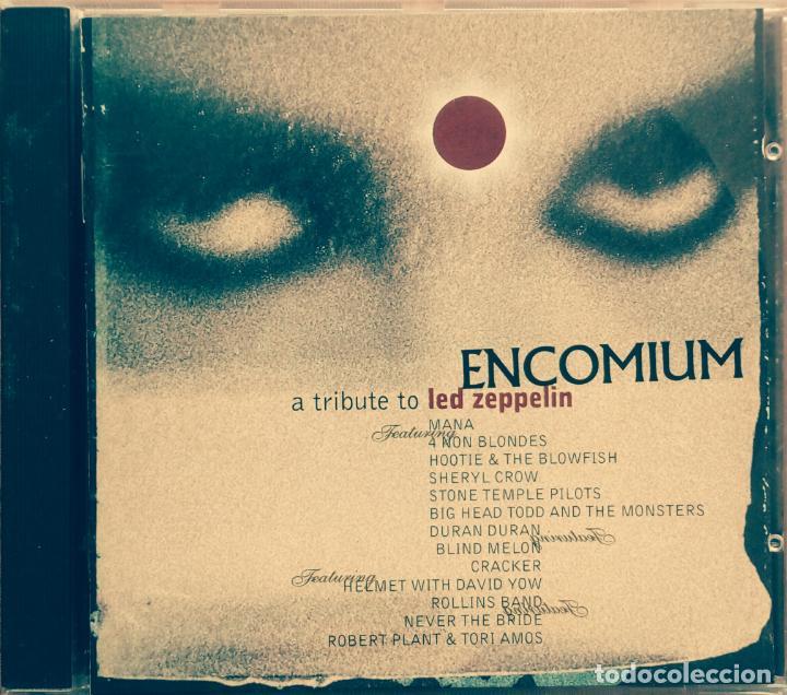 ENCOMIUM A TRIBUTE TO LED ZEPPELIN. ( SHERYL CROW, DURAN DURAN, ROLLINS BAND Y OTROS ) WARNER 1995 (Música - CD's Rock)