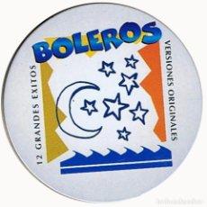 CDs de Música: BOLEROS - 12 GRANDES EXITOS - VERSIONES ORIGINALES. Lote 195262075