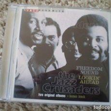 CDs de Música: CD. THE JAZZ CRUSADERS. FREEDOM SOUND. LIBRETO. MUY BUENA CONSERVACION. Lote 195262793
