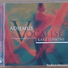 CDs de Música: ADIEMUS KARL JENKINS - VOCALISE (CD) 2003 - 16 TEMAS. Lote 195267912
