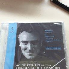 CDs de Música: BEETHOVEN SINFONÍA N°7 /SOR , OBERTURAS DE TELEMACO/CANTATA ALLA DUCHESSA D'ALBUFERA / JAIME MARTIN. Lote 195278352