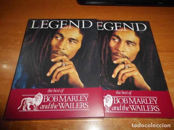 BOB MARLEY AND THE WAILERS LEGEND THE BEST OF 2 CD + DVD EDICION ESPECIAL BOX SET MUY RARO REMIXES (Música - CD's Reggae)