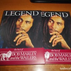 CDs de Música: BOB MARLEY AND THE WAILERS LEGEND THE BEST OF 2 CD + DVD EDICION ESPECIAL BOX SET MUY RARO REMIXES. Lote 195279881