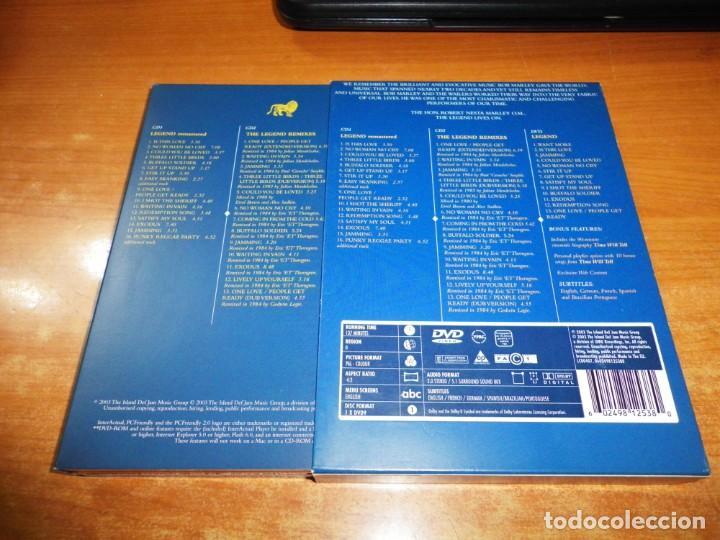CDs de Música: BOB MARLEY AND THE WAILERS Legend THE BEST OF 2 CD + DVD EDICION ESPECIAL BOX SET MUY RARO REMIXES - Foto 2 - 195279881