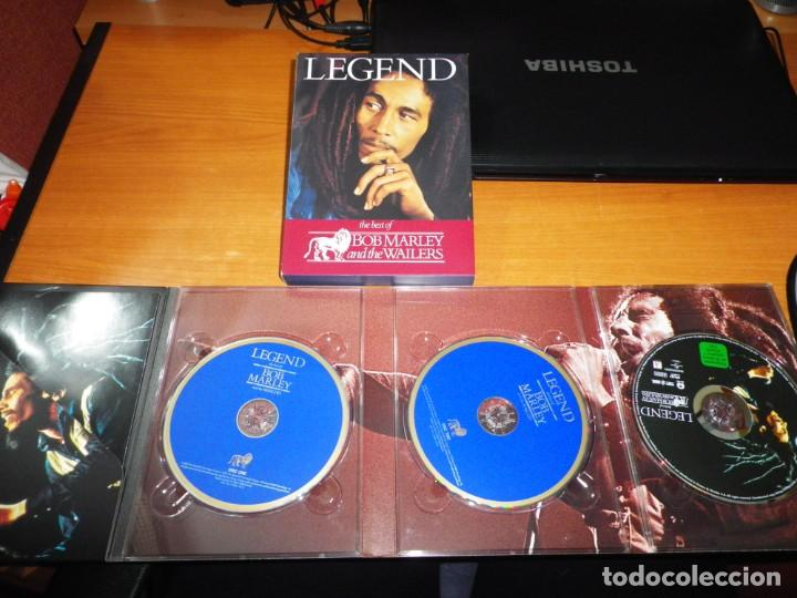 CDs de Música: BOB MARLEY AND THE WAILERS Legend THE BEST OF 2 CD + DVD EDICION ESPECIAL BOX SET MUY RARO REMIXES - Foto 4 - 195279881
