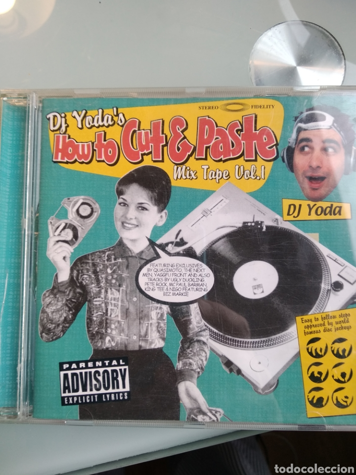 DJ YODA – HOW TO CUT & PASTE MIX TAPE VOL.1 (Música - CD's Hip hop)