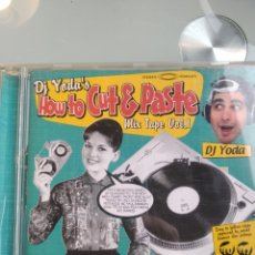 CDs de Música: DJ YODA – HOW TO CUT & PASTE MIX TAPE VOL.1. Lote 195290392