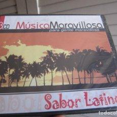 CDs de Música: MUSICA MARAVILLOSA PARA GENTE MARAVILLOSA SABOR LATINO 3 CDS-PRECINTADO-RARO. Lote 195299961