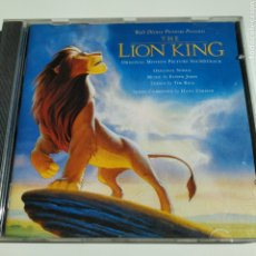 CDs de Música: THE LION KING - ORIGINAL MOTION PICTURE SOUNDTRACK -WALT DISNEY RECORDS - 90016 – ESPAÑA - 1994. Lote 195302366