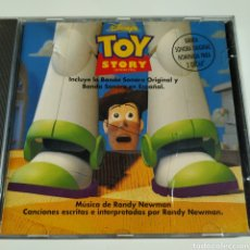 CDs de Música: RANDY NEWMAN – TOY STORY (JUGUETES) - ORIGINAL Y EN ESPAÑOL - WALT DISNEY RECORDS – 80195 - 1995. Lote 195302650