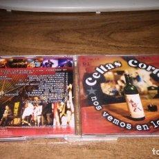 CDs de Música: CELTAS CORTOS - NOS VEMOS EN LOS BARES (2CD). Lote 195302991