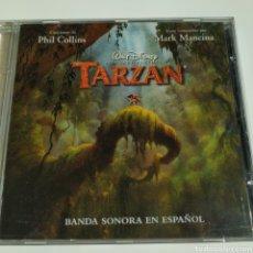 CDs de Música: PHIL COLLINS -TARZAN -BANDA SONORA EN ESPAÑOL- WALT DISNEY RECORDS - 0106692DNY – 1999 - ESPAÑA. Lote 195303965