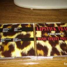 CDs de Música: MANIC STREET PREACHERS - LIPSTICK TRACES. A SECRET HISTORI OF MSP (2CD). Lote 195306722