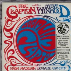 CDs de Música: ERIC CLAPTON AND STEVE WINWOOD - LIVE FROM MADISON SQUARE GARDEN - 2XCD. Lote 195307907