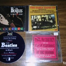 CDs de Música: THE BEATLES & PAUL MCCERTNEY - LOTE DE 4 CDS (VER FOTOS Y LEER DESCRIPCION). Lote 195308383