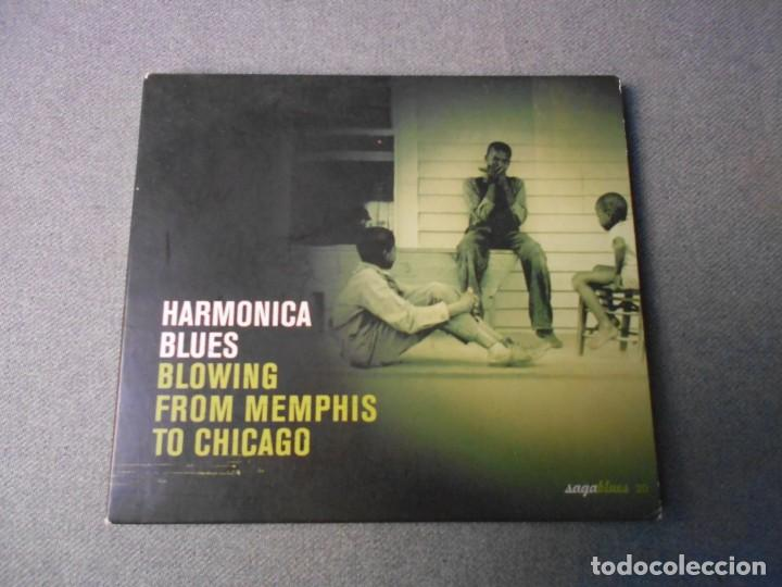 HARMONICA BLUES. BLOWING FROM MENPHIS TO CHICAGO (Música - CD's Jazz, Blues, Soul y Gospel)